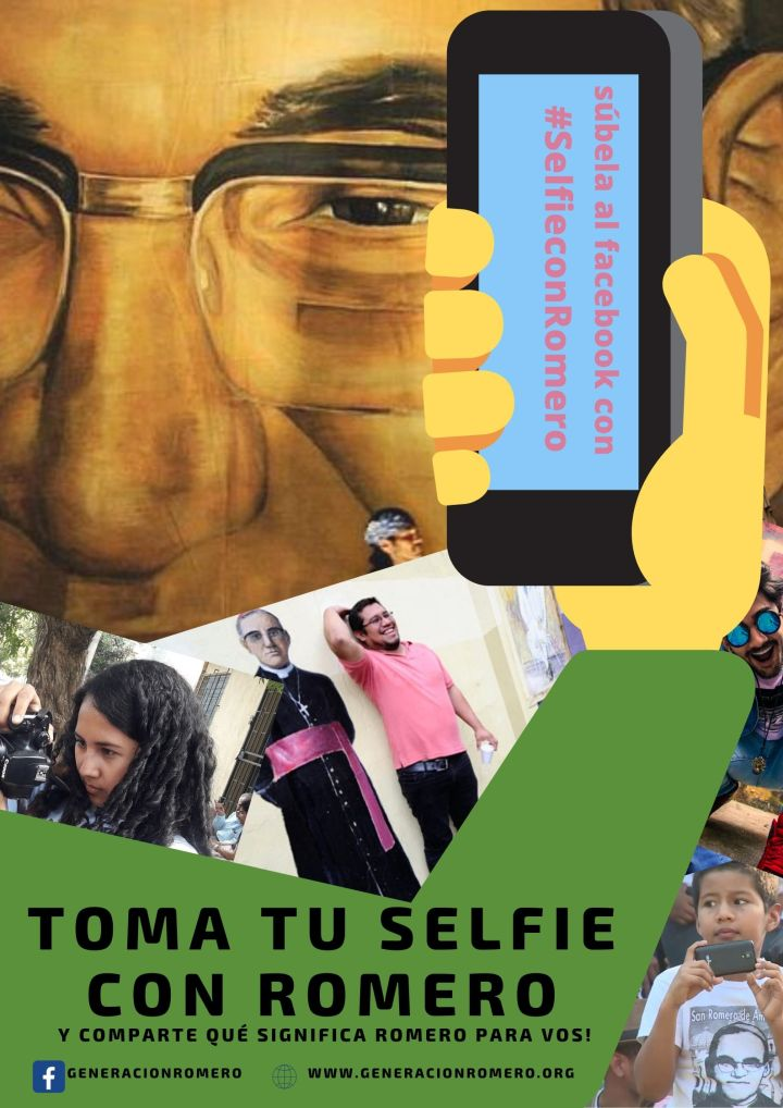 Toma tu selfie con Romero