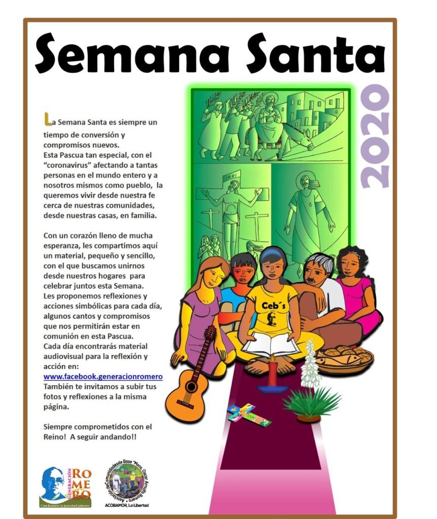 afiche Semana Santa